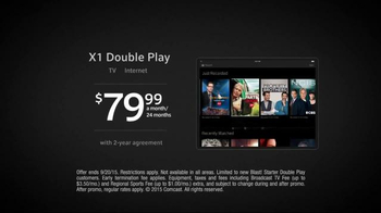 XFINITY X1 Double Play TV Spot, 'Wherever You Go' - Thumbnail 7