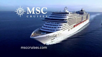 MSC Cruises TV Spot, 'Cruise Along' Song by Mungo Jerry - Thumbnail 1