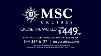 MSC Cruises TV Spot, 'Cruise Along' Song by Mungo Jerry - Thumbnail 7