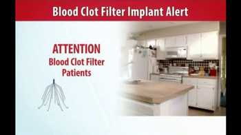Gold Shield Group TV Spot, 'Blood Clot Filter Alert' - Thumbnail 1