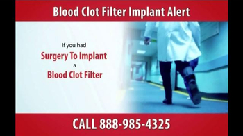 Gold Shield Group TV Spot, 'Blood Clot Filter Alert' - Thumbnail 4