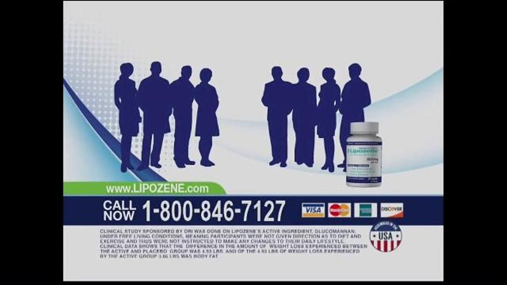 Lipozene TV Commercial, 'Water vs. Fat'