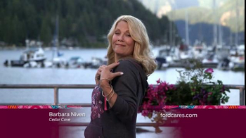 Ford Warriors in Pink TV Spot, 'Hallmark Channel: Town' Ft. Barbara Niven