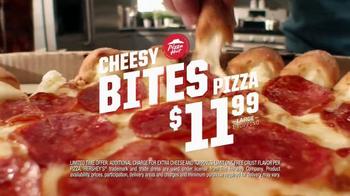 Pizza Hut Ranch Crust Cheesy Bites TV Spot, 'New Flavor' - Thumbnail 4
