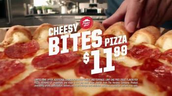 Pizza Hut Ranch Crust Cheesy Bites TV Spot, 'New Flavor' - Thumbnail 5