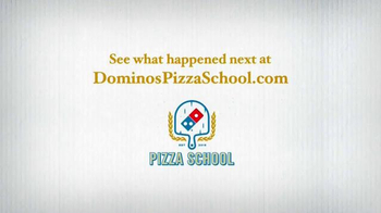 Domino's TV Spot, 'Pizza School: Visiting the Competition' - Thumbnail 7