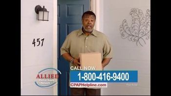 Allied Medical Supply Network TV Spot, 'CPAP Supply'
