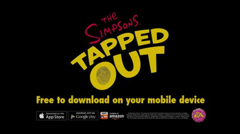 The Simpsons: Tapped Out TV Spot, 'Homer and Tap Ball' - Thumbnail 9