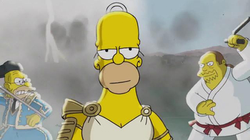 The Simpsons: Tapped Out TV Spot, 'Homer and Tap Ball' - Thumbnail 3