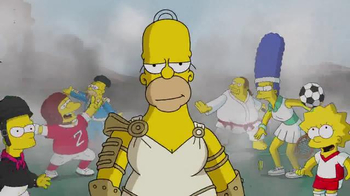 The Simpsons: Tapped Out TV Spot, 'Homer and Tap Ball'