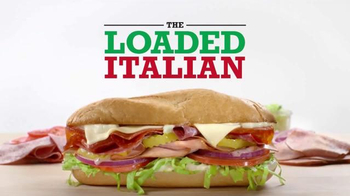 Arby's Loaded Italian TV Spot, 'Where Do Sandwiches Come From' - 3778 commercial airings