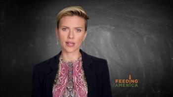 Feeding America TV Spot, 'Child Hunger PSA' Featuring Scarlett Johansson - Thumbnail 2