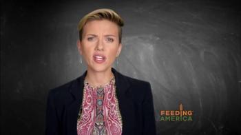 Feeding America TV Spot, 'Child Hunger PSA' Featuring Scarlett Johansson - Thumbnail 5