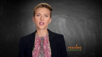 Feeding America TV Spot, 'Child Hunger PSA' Featuring Scarlett Johansson - Thumbnail 6