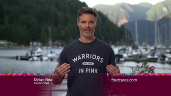 Ford Warriors in Pink TV Spot, 'Hallmark Channel: Headlines' Ft. Dylan Neal - 91 commercial airings