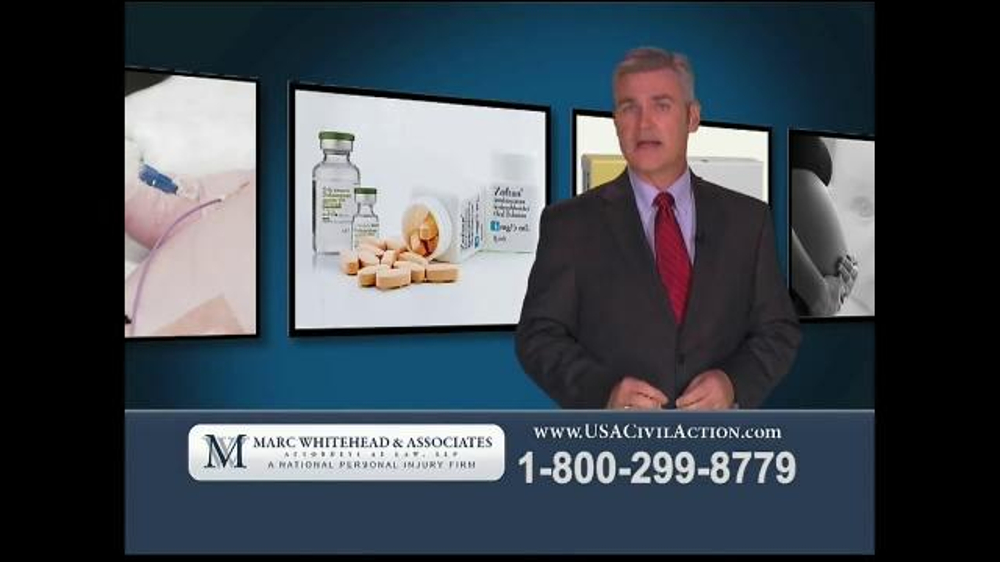 Marc Whitehead & Associates, LLP TV Commercial, 'Zofran'