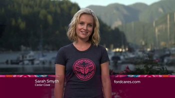 Ford Warriors in Pink TV Spot, 'Hallmark Channel' Featuring Sarah Smyth - 53 commercial airings