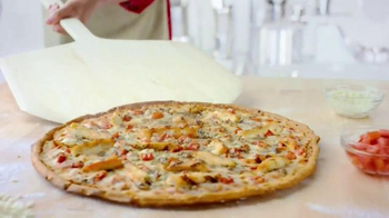 Papa John's Grilled Chicken Margherita Pizza TV Spot, 'Light and Fresh' - Thumbnail 2