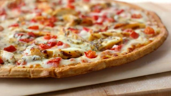 Papa John's Grilled Chicken Margherita Pizza TV Spot, 'Light and Fresh' - Thumbnail 4
