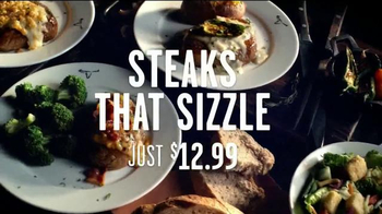Longhorn Steakhouse TV Spot, 'Steaks That Sizzle'