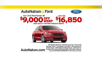 AutoNation Model Year End Sale TV Spot, 'Every 2015' - Thumbnail 7