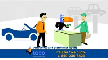Toco Warranty TV Spot, 'Vehicle Service Contract'
