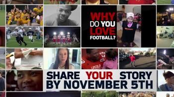NFL TV Spot, 'Share Your Story' - Thumbnail 9