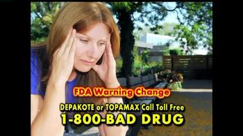 Pulaski & Middleman TV Spot, 'Depakote & Topamax' - Thumbnail 2