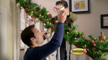 Command TV Spot, 'Holiday Decorations'