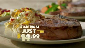 Outback Steakhouse Butcher Cuts TV Spot, 'Vibrant Entrees' - 2714 commercial airings
