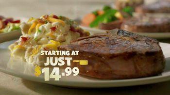 Outback Steakhouse Butcher Cuts TV Spot, 'Vibrant Entrees'