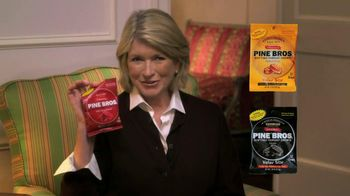 Pine Brothers Softish Throat Drops TV Spot Featuring Martha Stewart - 24 commercial airings