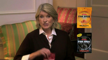 Pine Brothers Softish Throat Drops TV Spot Featuring Martha Stewart - Thumbnail 8