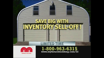 Future Buildings Inventory Sell-Off TV Spot - Thumbnail 8