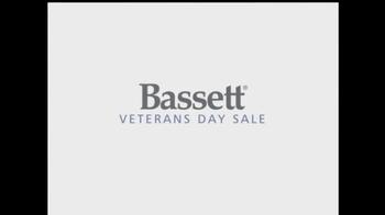 Bassett Veterans Day Sale TV Spot - Thumbnail 1