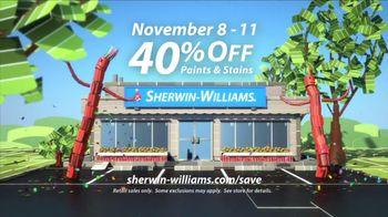 Sherwin-Williams 4-Day Super Sale TV Spot, 'November'