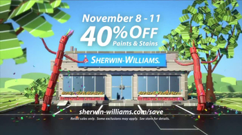 Sherwin-Williams 4-Day Super Sale TV Spot, 'November'
