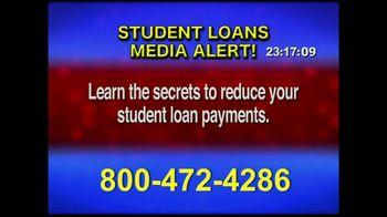 Student Loan Hotline TV Spot, 'Media Alert'