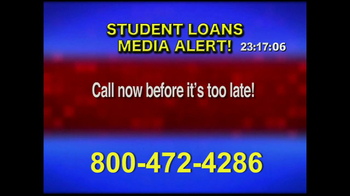 Student Loan Hotline TV Spot, 'Media Alert' - Thumbnail 7