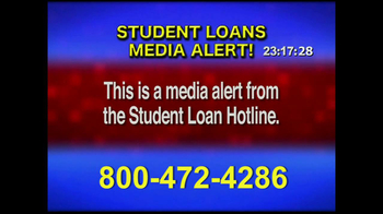 Student Loan Hotline TV Spot, 'Media Alert' - Thumbnail 1