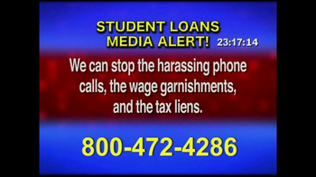 Student Loan Hotline TV Spot, 'Media Alert' - Thumbnail 5