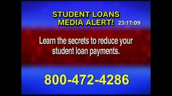 Student Loan Hotline TV Spot, 'Media Alert'