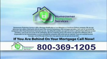 Homeowner Protection Services TV Spot, 'Behind on Your Mortgage'