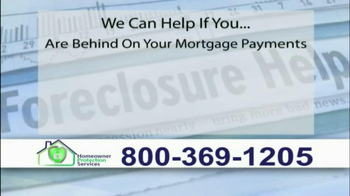 Homeowner Protection Services TV Spot, 'Behind on Your Mortgage' - Thumbnail 2