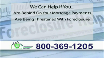 Homeowner Protection Services TV Spot, 'Behind on Your Mortgage' - Thumbnail 3