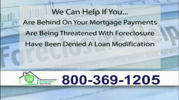 Homeowner Protection Services TV Spot, 'Behind on Your Mortgage' - Thumbnail 4