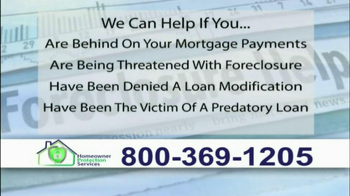Homeowner Protection Services TV Spot, 'Behind on Your Mortgage' - Thumbnail 5