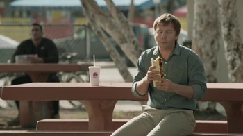 Taco Bell Triple Steak Stack TV Spot, 'Hurricane Doug' - Thumbnail 3