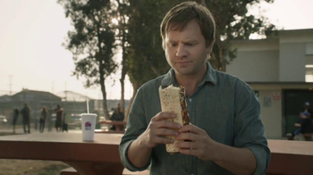 Taco Bell Triple Steak Stack TV Spot, 'Hurricane Doug' - Thumbnail 4