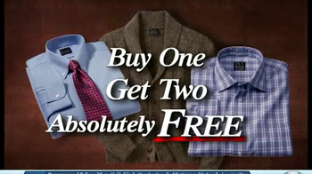 JoS. A. Bank TV Spot, 'Buy One Get Two'